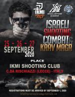 25-26-27 September  Israeli Shooting Combat & Krav Maga  Italy