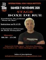 7 Novembre 2020  Stage Boxe de Rue R. Paturel  Italy