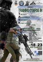 18-23 October 2020  Training Course  Wingate Institute  Israel
