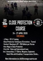24-27 April 2020 - Close Protection Course - Vienna