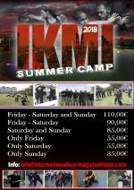 June 1-3, 2018 - Ikmi Summer Camp - Lecce - Italy