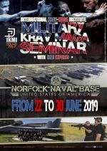 22nd to 30th June 2019 - Military Krav Maga Seminar - Naval Base - Norfolk USA