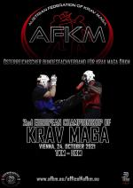 Sunday 24 October 2021 2nd European Championship of Krav Maga - Vienna