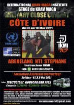 Du 3 au 10 Mai 2021 Stages et Formation Instructeurs - Côte d'Ivoire