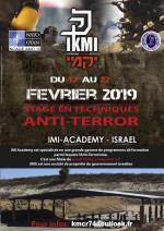17-22 Fevrier 2019 - Stage Anti-terrorisme - Israel