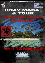 From 13 to 20 February 2020 - Krav Maga & Tour - Martinique Island