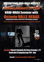 Sunday, Januari 27, 2019 - Krav-Maga Seminar - Padova - Italy
