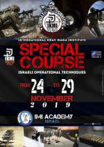 From 24 to 29 November 2019 Israeli Special Course Imi Academy Israel