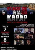 7-8 Décembre 2019 - Stage de Krav Maga et Kapap - Luxembourg