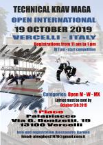 19 October 2019 - Open International of Technical Krav Maga - Vercelli - Italy