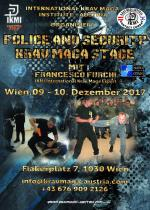 Wien, 09 - 10 Dezember 2017 - Police and Security Krav Maga Stage