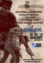 3th Winter Camp  Krav Maga & Shooting 22/24 January 2021  Sarajevo