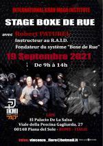 Dimanche 19 Septembre 2021 - Stage Boxe de Rue - Rome