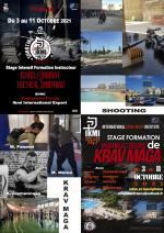 3-11 Octobre 2021 - Stage Instructeurs Krav Maga & Shooting