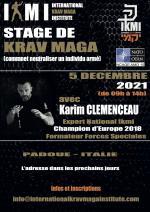 Dimanche 5 Décembre 2021 - Stage Krav Maga Opérationnel - Padoue