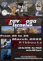 20-25 March, 2022 - Krav Maga Instructor Training Course   Israel