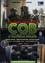 30-31 and 1 November 2021 - Training Course in CQB - Bari - Italy